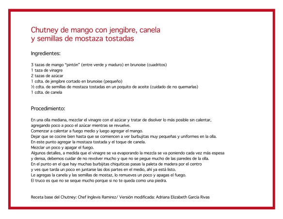 Receta-Chutney
