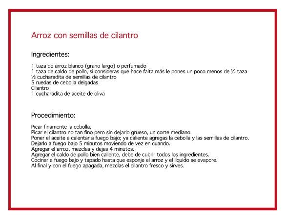 Arroz-semillas-cilantro